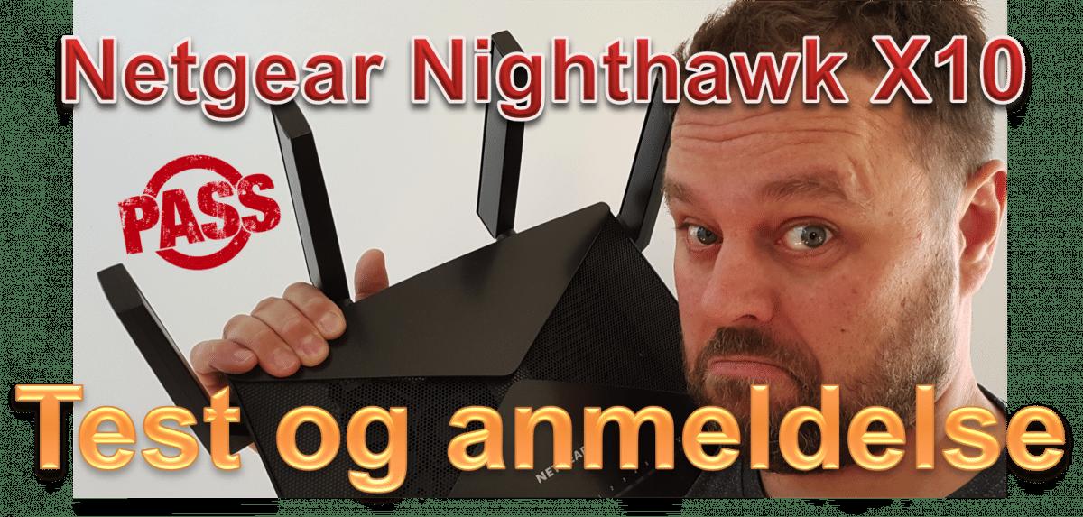 Netgear Nighthawk X10 test og anmeldelse