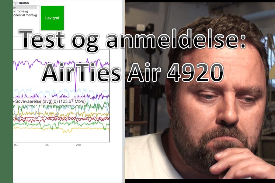AirTies Air 4920: Test og anmeldelse